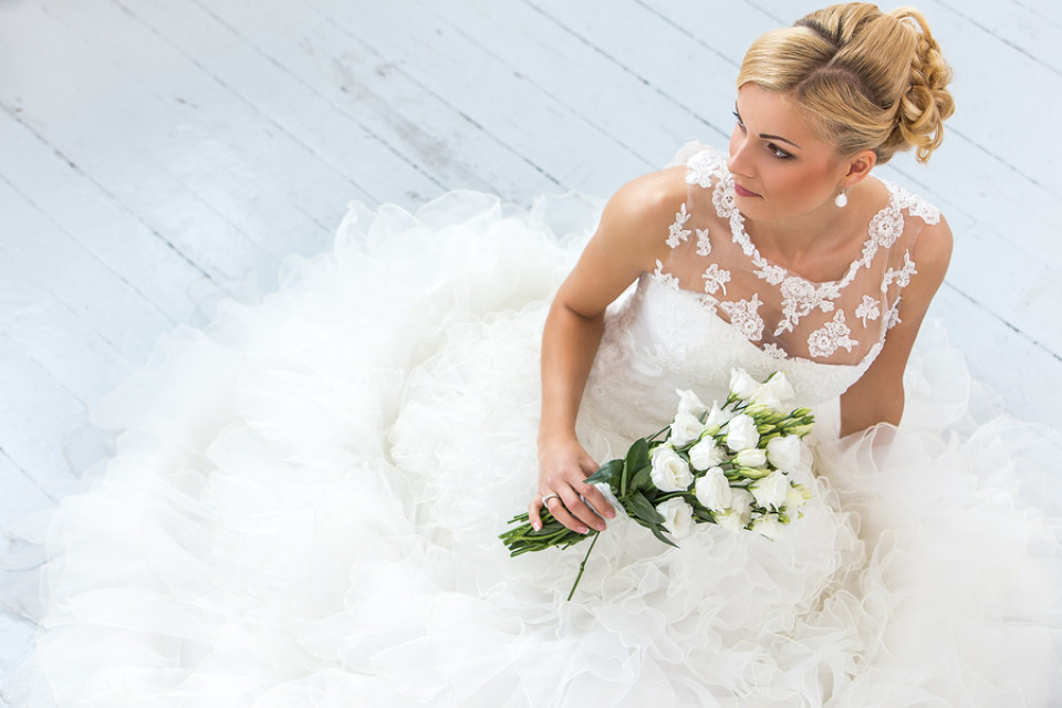 Brautkleid Tüll | Luftige Hochzeitskleider mit Tüll
